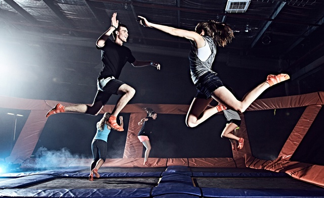 PRICE DROP! $10 & Up for Trampoline Jump Passes at Sky Zone Trampoline Park - Multiple Locations!