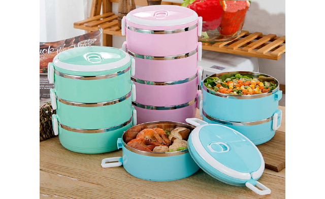 Up to 75% off Tiered Lunch Boxes