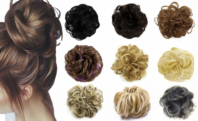 $17 for a Messy Bun Hair Extension Scrunchie (a $39 Value)