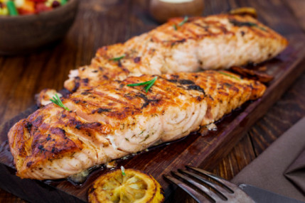 $38 for 5.25 lbs of Pacific Keta Salmon Portions (a $50 value)