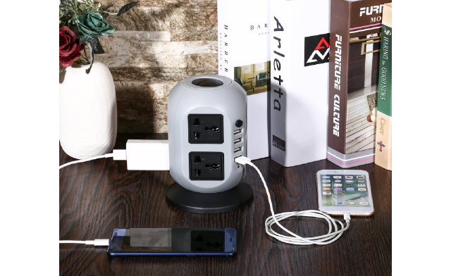 $34.99 for a Surge Power Tower Charging Station (a $109.99 Value)