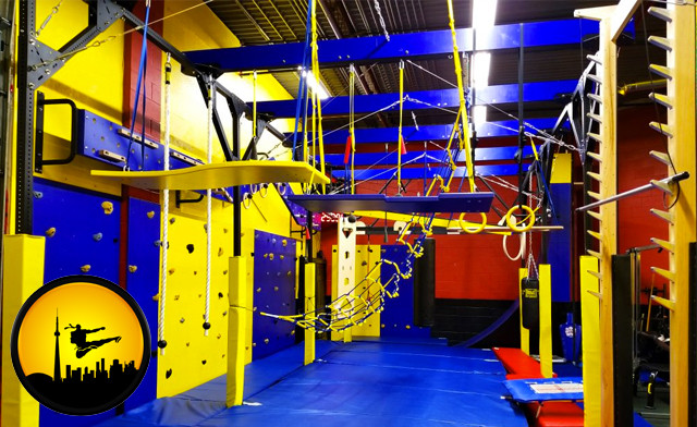 Up to 50% off Admission to the Ninja Obstacle Course