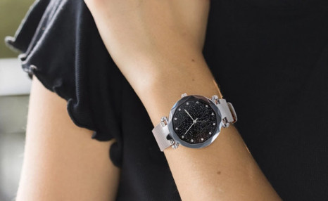 $15 for a Starry Sky Fashion Luxury Stainless Steel Quartz Wrist Watch (a $40 Value)