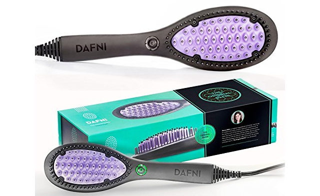 $49 for a DAFNI Hair Straightening Ceramic Brush (a $199 Value)