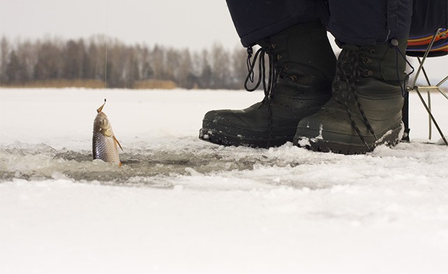 Click to view $125 for an Ice Fishing Experience for 4 People on Lake Simcoe (a $240 Value)