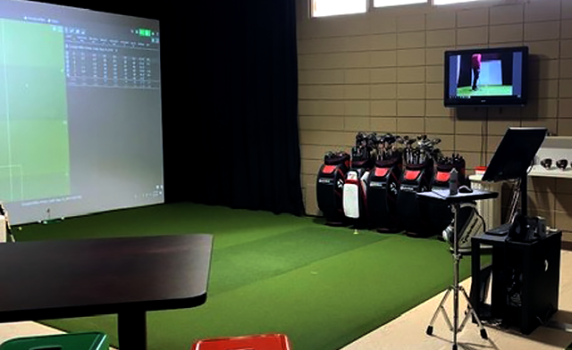 Up to 60% off Indoor Golf using the Trackman Golf Simulator with Wings and 2 Outdoor Rounds of Golf for Later