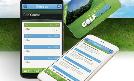 $44.95 for One Canada Golf Card with Offers from Over 800 Courses (a $64.95 Value)