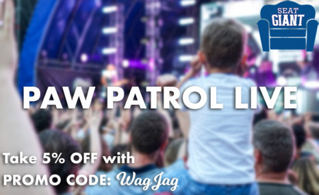Click to view See Paw Patrol Live this November & December - Prices from $60 CAD! (Multiple Locations)