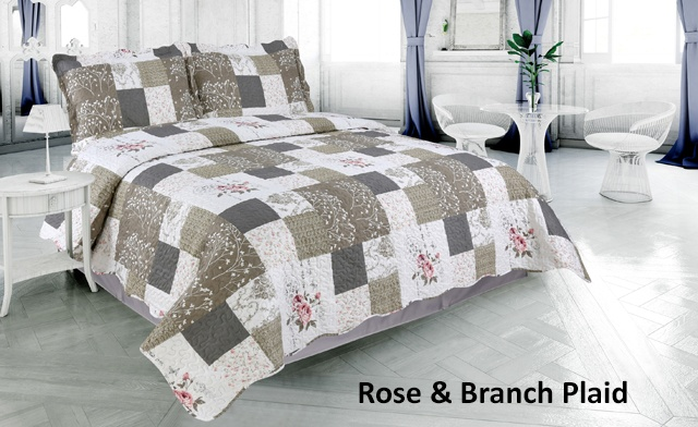 Up to 70% off Pinsonic 3-Piece Quilt Sets Featuring 6 Unique Designs