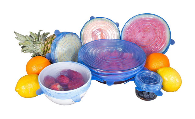 $15.49 for a 6 Piece Set of Reusable Silicone Stretch Lids (a $28 Value)
