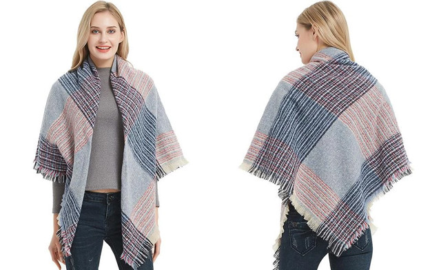 $19 for an Oversized Pashmina Scarf (a $48 Value)