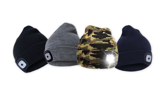 $12 for a Beanie with LED Headlamp (a $35 Value)