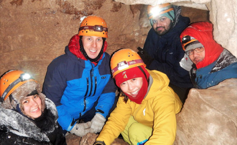 $39 for a 3-Hour Guided Winter Caving Adventure with Free Spirit Tours (a $75 Value)