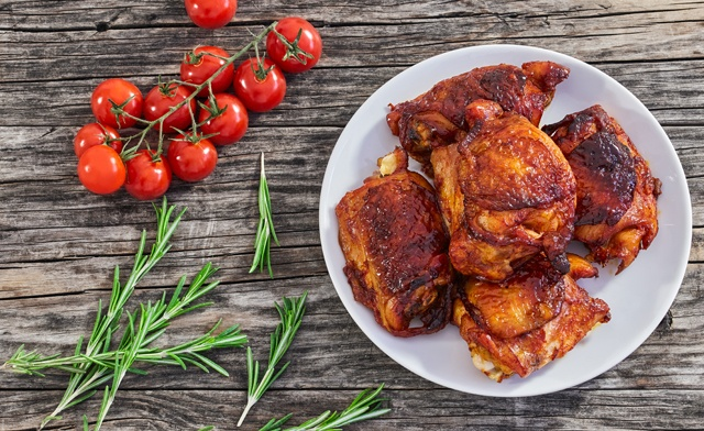 PRICE DROP!! $19 for 4.4lbs of Smoked Tennessee Style Chicken Thighs (a $50 value)