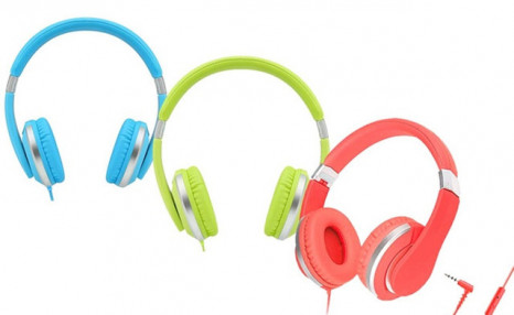 $24.95 for Teachers Approved I20-R Kids' Over-Ear Wired Headphones with Mic (a $134.99 Value)