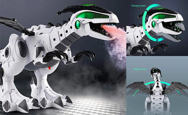 Click to view $35 for an Electronic Dinosaur Robot Toy (a $78 Value)