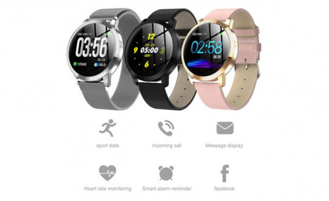 $54.49 for a CF18 Smart Watch Heart Rate Blood Pressure Monitor Fitness Tracker Wristband (a $143 Value)