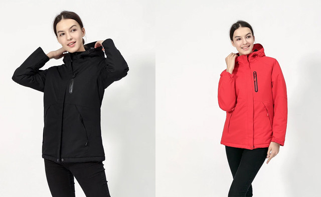 $75 for a Unisex Waterproof Digital Heating Hooded Outdoor Windproof Jacket (a $279 Value)