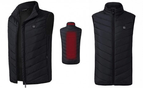 $49 for a USB Mens Electric Heating Vest (a $149 Value)