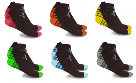 $26.95 for a Pack of 6 XTF Ankle-Length Graduated Compression Socks (a $85.99 Value)