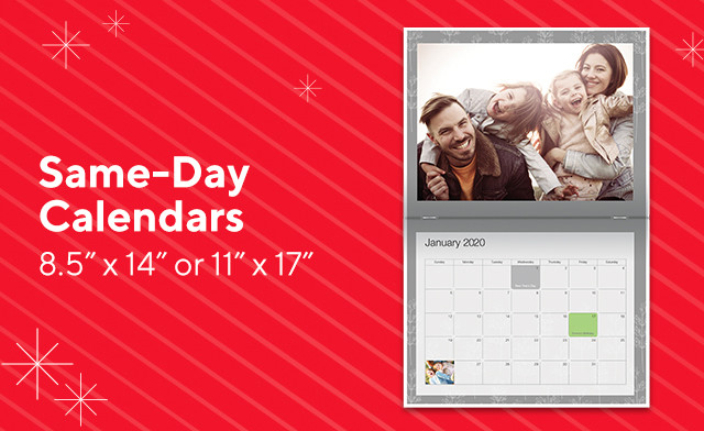 Photo Calendars from Staples Starting at $6