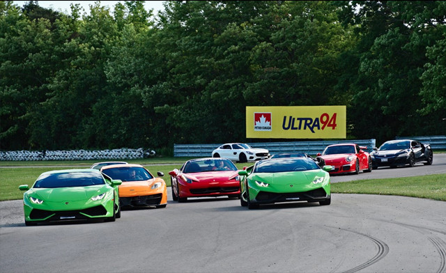 Up to 56% off an Exotic or Muscle Car Racing Experience on the Race Track