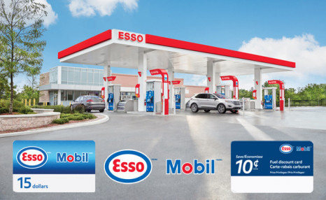 Click to view Esso™ and Mobil™: Save on Fuel with a 10 cent Fuel Discount and Gift Card Bundle