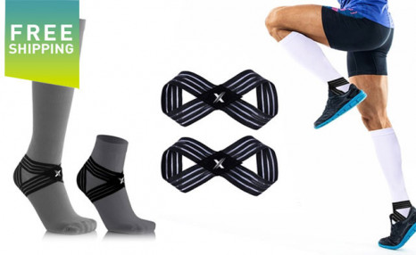 Click to view $19.95 for Xtreme Grip 2.0 Unisex Ankle Support Wrap (1-Pair) - Free Shipping (a $51.99 Value)