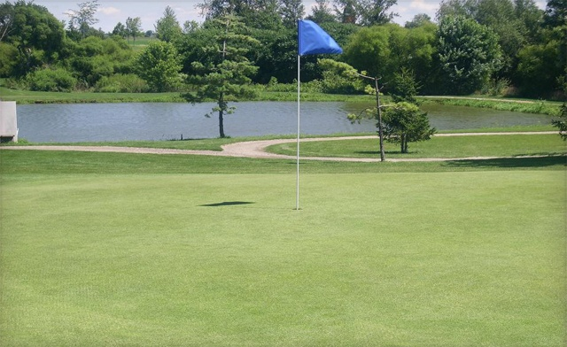 $89 for Unlimited Holes of Golf for 2 with Power Cart (a $198 Value)