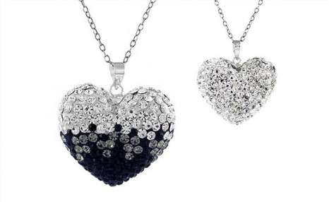 Click to view $18.95 for a Necklace with Crystal Heart Pendant Made with Swarovski Elements (a $125 Value)