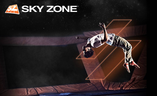 Click to view $120 for a 1-Year Membership to Sky Zone Trampoline Park (a $293.80 Value)