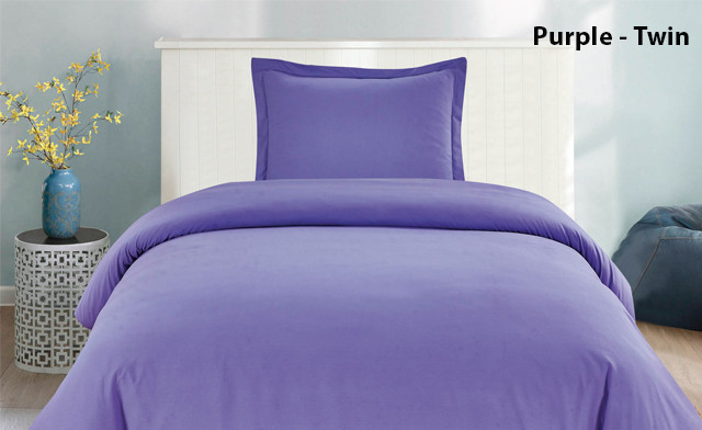 Up to 82% off Solid Duvet Cover Sets