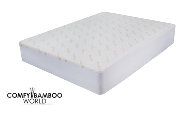 Up to 76% off a Copper Infused Mattress Protector
