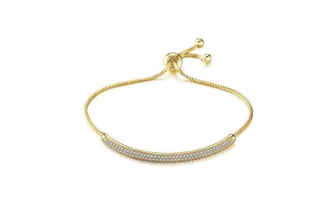 Click to view $19 for an Adjustable Swarovski Crystal Semi-Bangle (a $150 Value)
