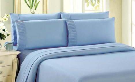 Click to view Up to 79% off a 3-Piece Bamboo Duvet Cover Set