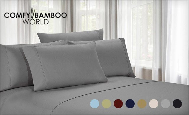 Click to view $22.99 for Luxury Microfibre Sheets Available in Twin, Double, Queen or King Sizes (a $129 Value)
