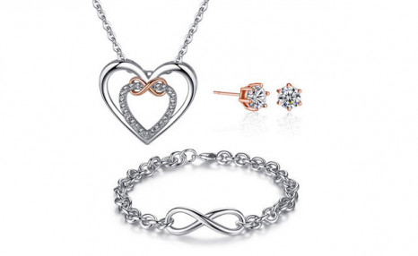 $35 for a Infinity Set with Crystals from Swarovski® - Shipping Included (a $176 Value)