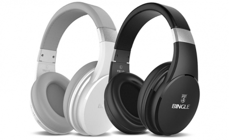 $35 for a Bluetooth 4.1 Noise Cancelling Wireless Stereo Headset with Microphone and Extreme Bass (a $99.99 Value)