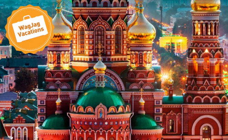 Click to view 9 Days in Magical St. Petersburg & Moscow