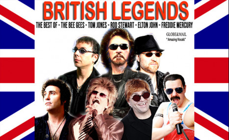 Click to view Save Up to $20 on Tickets to British Legends at the Flato Markham Theatre - Use Promo Code 'Santa'