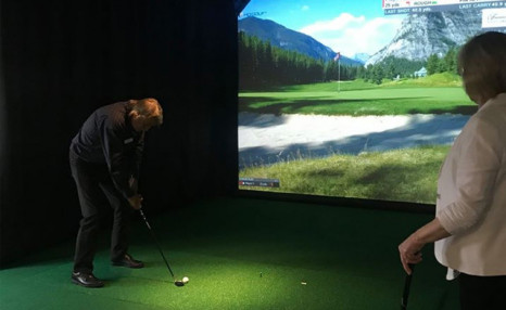 Click to view $40 for 2 Hours of Golf Simulator Play (Up to an $80 Value)