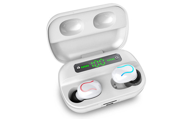 $35 for a Pair of Bluetooth 5.0+EDR Wireless Stereo Earbuds - Shipping Included (a $99 Value)