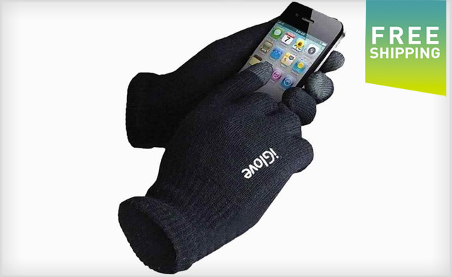 $14.95 for Two Pairs of iGlove Touch Screen Winter Gloves (a $56.50 Value)