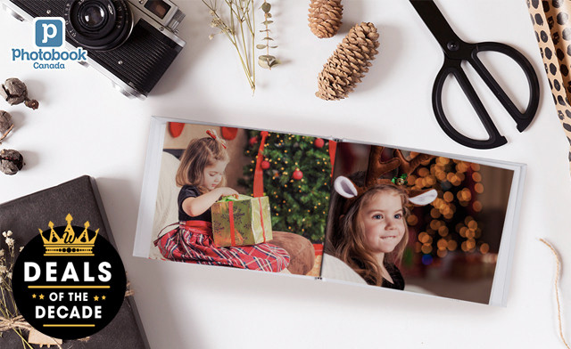 Up to 90% off Holiday Specials from Photobook Canada