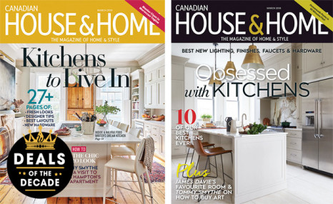 Boxing Week Sale Continues! $16 for 1 Year + 1 FREE ISSUE from House & Home magazine (a $71.50 value)