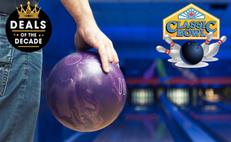 $29 for 90 Minutes of Bowling Fun for Up to 4 People including Shoe Rentals (an $88.44 Value)