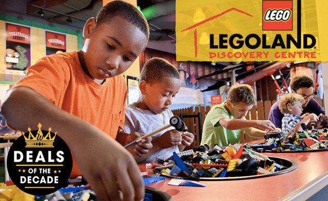 $18 for a LEGOLAND Discovery Centre Flexible Admission Ticket for One Adult or Child (a $27.95 Value)
