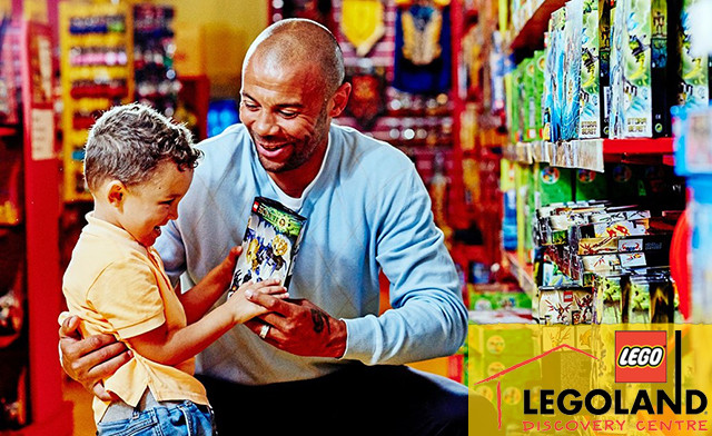 $18 for a LEGOLAND Discovery Centre Toronto Ticket (a $24.95 Value)