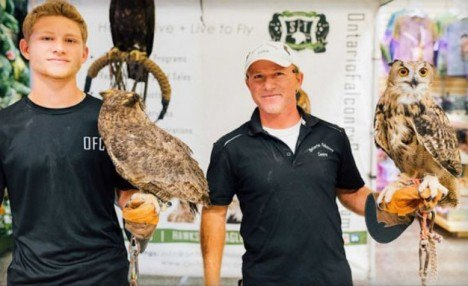 $19 and Up for 1-Hour Meet and Greet Falconry or Falconer of the Day Workshops at Ontario Falconry Centre