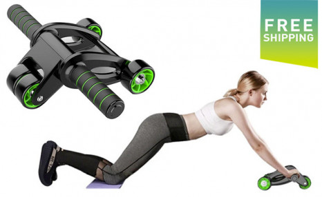 $39 for a Four-Wheeled Roller Abdominal Exercise Wheel (a $95 Value)